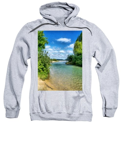 Elk River- Elk Rapids Michigan Sweatshirt