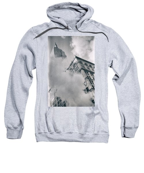 Empire State Building And Steam Sweatshirt