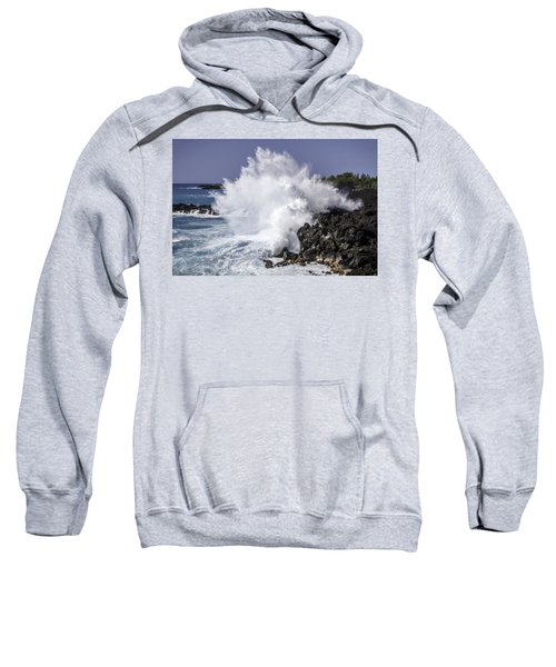 End Of The World Explosion Sweatshirt