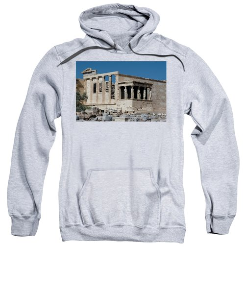Erechtheion With The Porch Of Maidens Sweatshirt