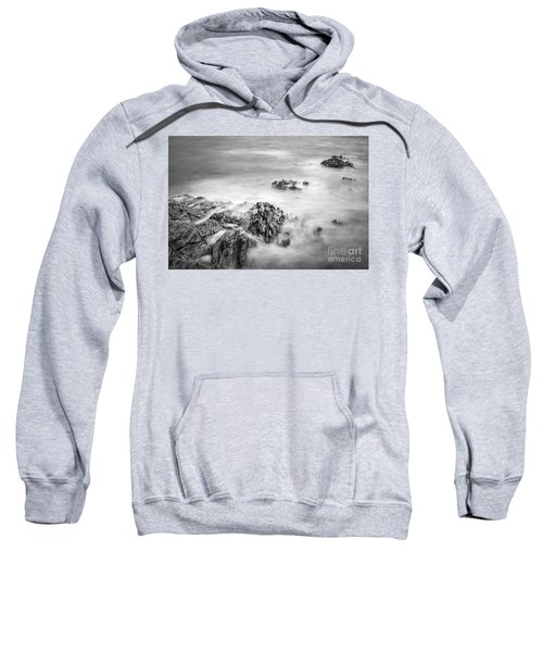 Estacas Beach Galicia Spain Sweatshirt