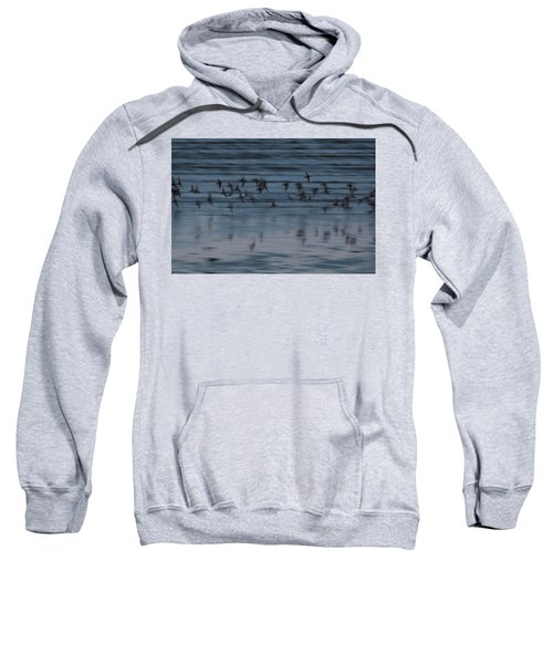 Sweatshirt featuring the photograph Evening Abstract by Alex Lapidus