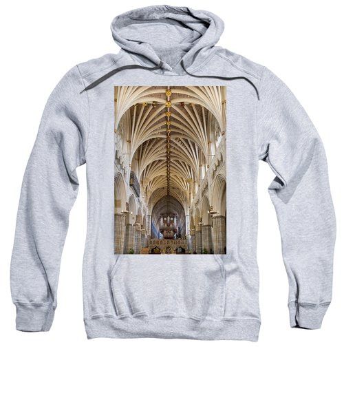 Exeter Cathedral And Organ Sweatshirt