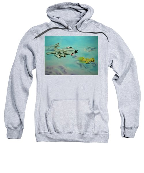 Extreme Airline Mergers Sweatshirt