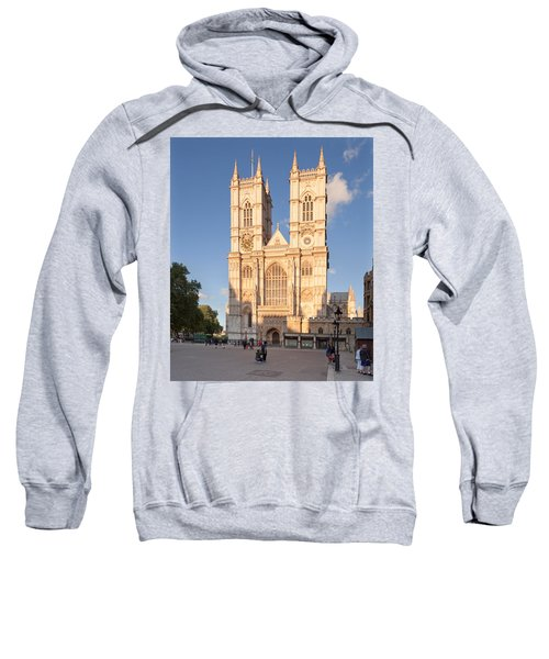 Facade Of A Cathedral, Westminster Sweatshirt