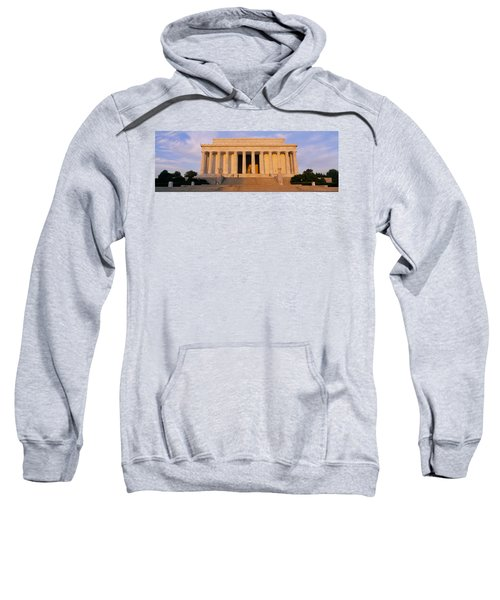 Facade Of A Memorial Building, Lincoln Sweatshirt