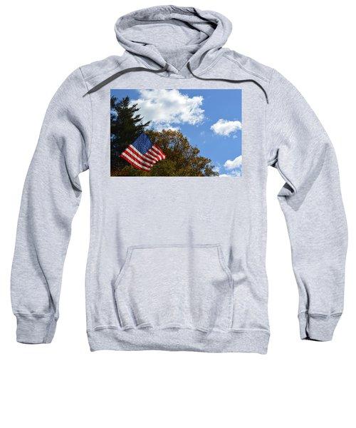 Fall Flag Sweatshirt