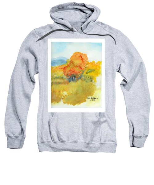 Fall Trees 2 Sweatshirt