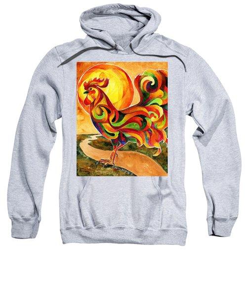 Fancy Feathers Rooster Sweatshirt