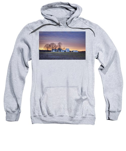 Farmstead At Sunset Sweatshirt