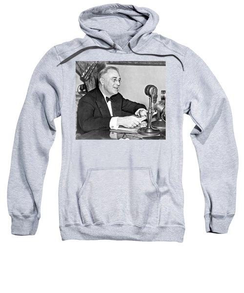 Fd Roosevelt Fireside Chat Sweatshirt
