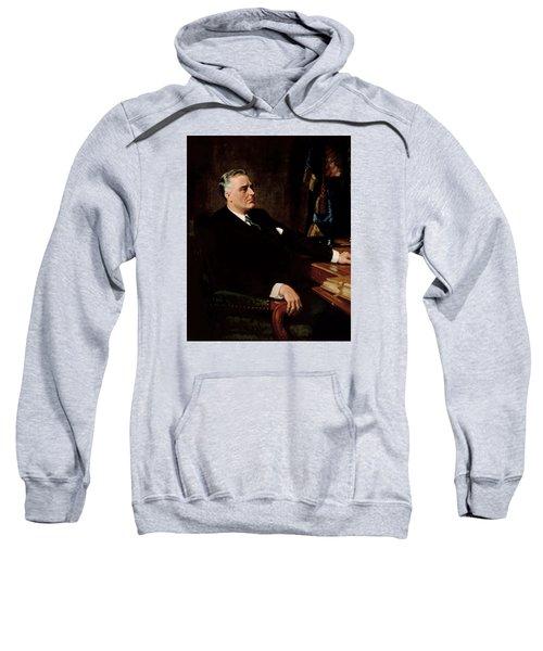 Fdr Official Portrait  Sweatshirt