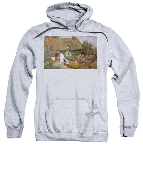 Feeding The Pigeons Sweatshirt