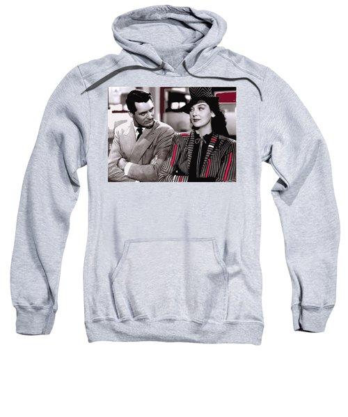 Film Homage Cary Grant Rosalind Russell Howard Hawks His Girl Friday 1940-2008 Sweatshirt