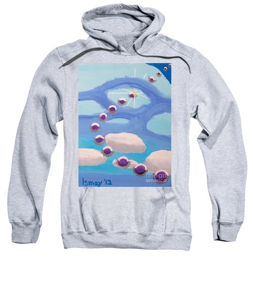 Sweatshirt featuring the painting Finding Personal Peace by Rod Ismay