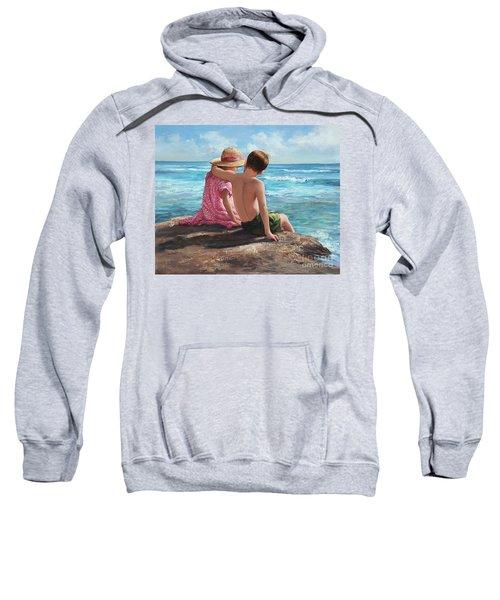First Love By The Seashore Sweatshirt