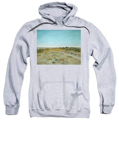Sweatshirt featuring the painting First Touch Of Autumn by William Merritt Chase