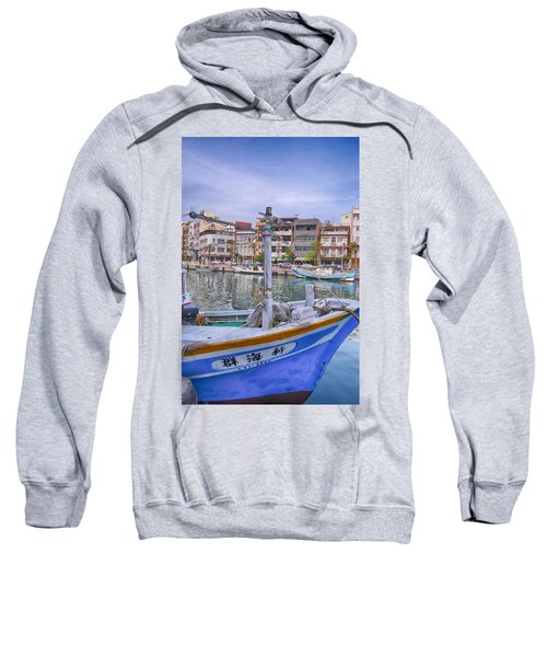 Fishing Boat Sweatshirt