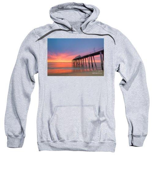 Fishing Pier Sunrise Sweatshirt