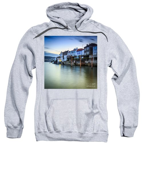 Fishing Town Of Redes Galicia Spain Sweatshirt
