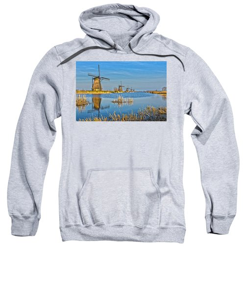 Five Windmills At Kinderdijk Sweatshirt