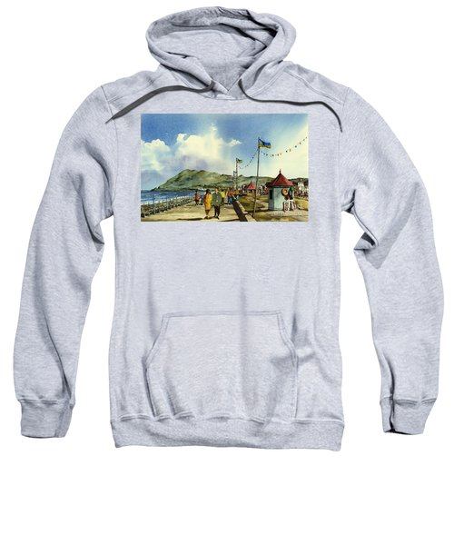 As I Walk Along The Promenade With An Independant Air  ....... Sweatshirt