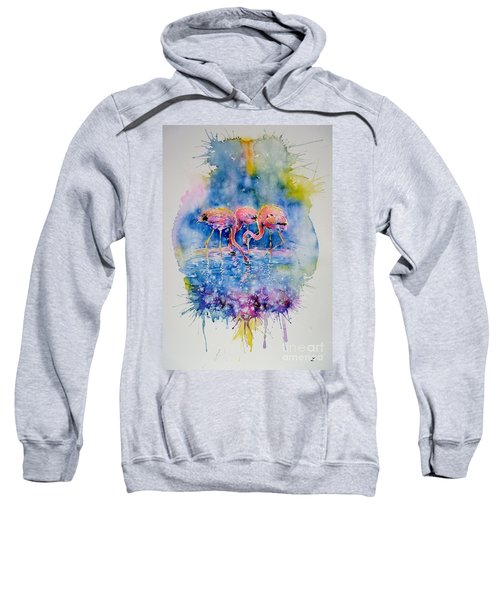 Flamingo Glare Sweatshirt
