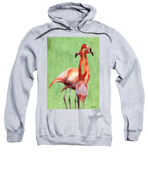 Flamingo Twist Sweatshirt