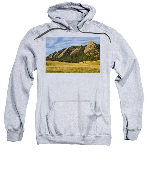 Flatiron Morning Light Boulder Colorado Sweatshirt