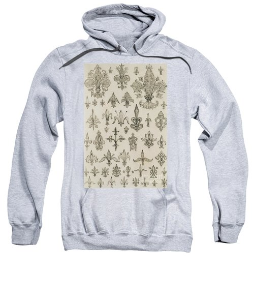 Fleur De Lys Designs From Every Age And From All Around The World Sweatshirt