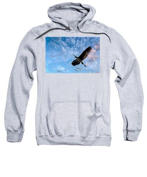 Flight Of The Heron Sweatshirt