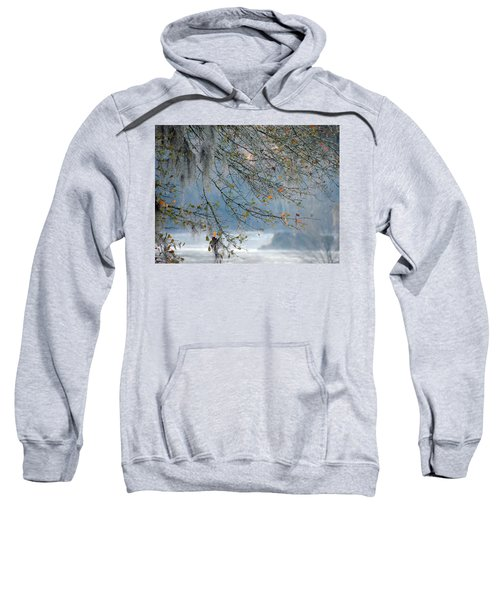 Sweatshirt featuring the photograph Flint River 29 by Kim Pate