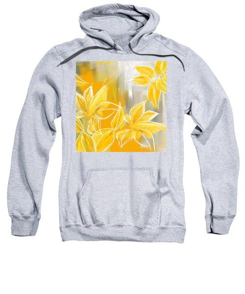 Floral Glow Sweatshirt