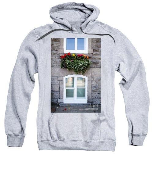 Flower Box Old Quebec City Sweatshirt