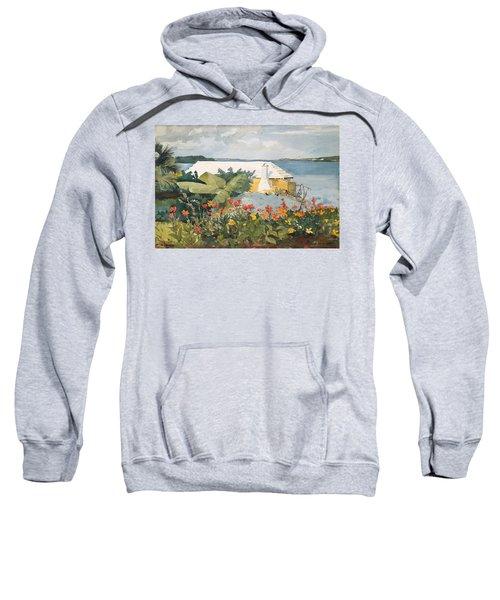 Flower Garden And Bungalow Sweatshirt