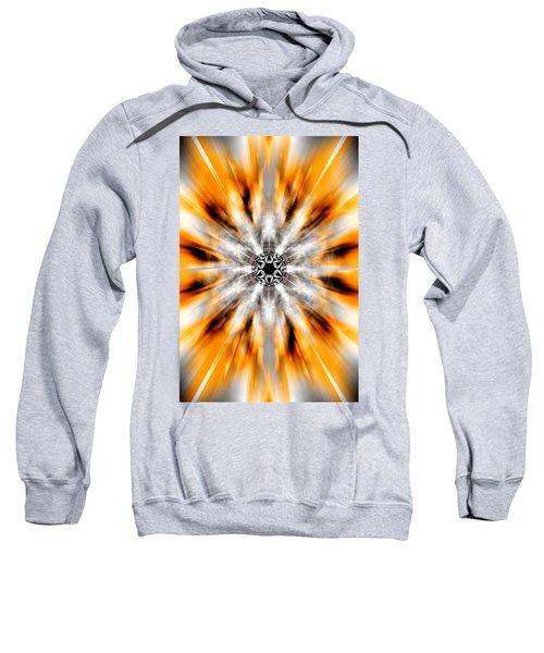 Flower Grid Sixty-three Sweatshirt by Derek Gedney