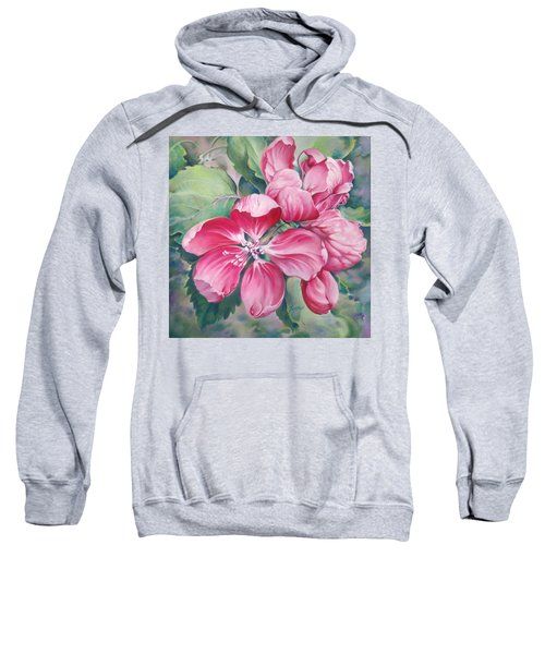 Flower Of Crab-apple Sweatshirt