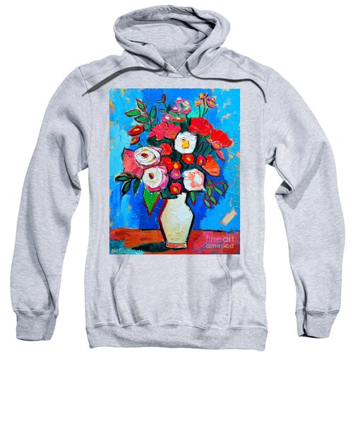 Flowers And Colors Sweatshirt