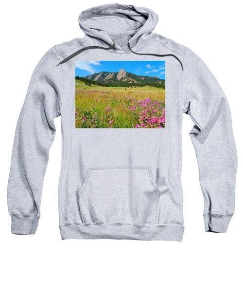 The Flatirons Colorado Sweatshirt