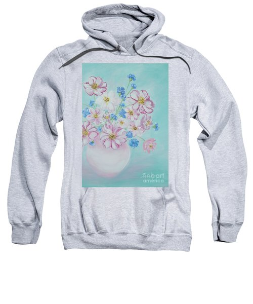 Flowers In A Vase. Inspirations Collection Sweatshirt