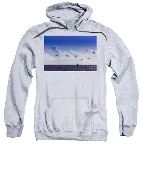 Flying Free Sweatshirt by Marvin Spates