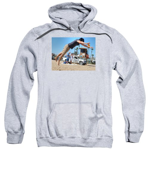 Flying Tourist Sweatshirt