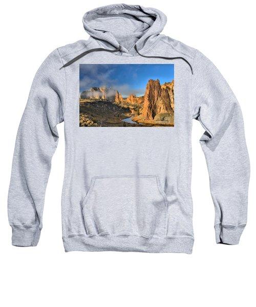 Fog Over Smith Rock Sweatshirt