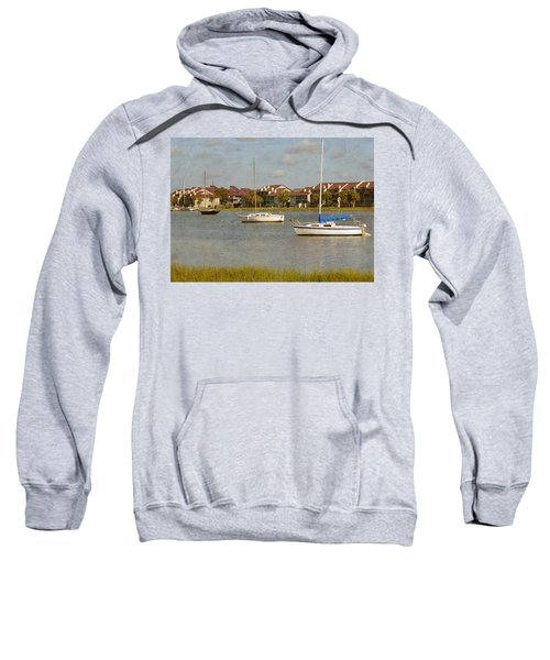 Folly Beach Boats Sweatshirt