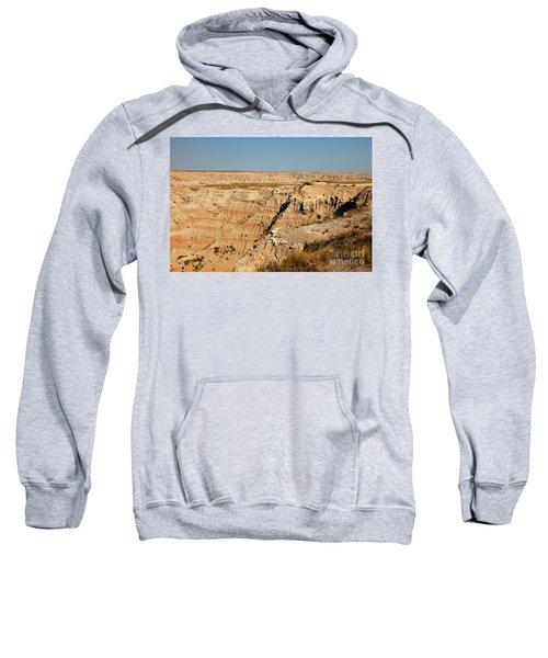 Fossil Exhibit Trail Badlands National Park Sweatshirt