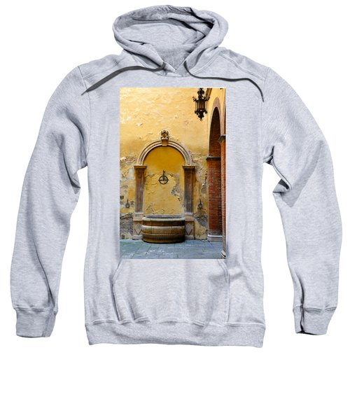 Fountain In Sienna Sweatshirt