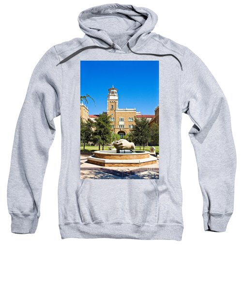 Sweatshirt featuring the photograph Fountain Of Knowledge by Mae Wertz
