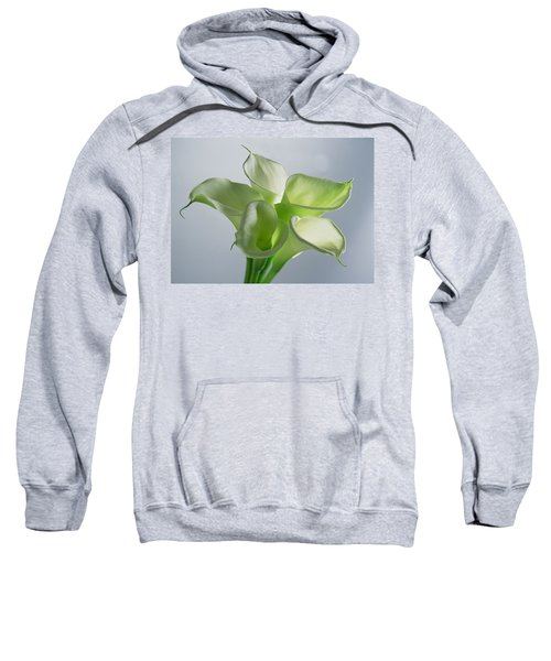 Four Arum Lilies Sweatshirt