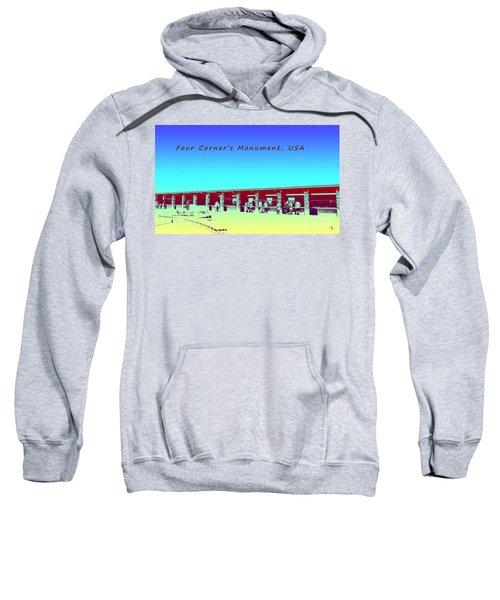 Four Corners Monument Usa Sweatshirt