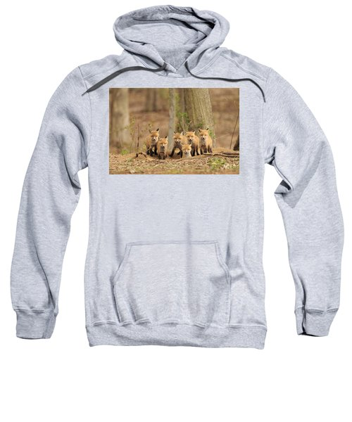 Fox Family Portrait Sweatshirt